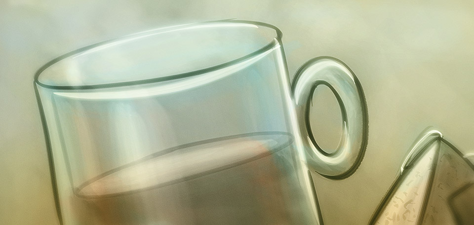 How refreshing and a nice and warm cup of tea can be… Enjoy! -- A Nice Cup of Tea - Digital Art by Matthias Zegveld