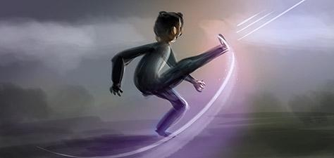 Alive and Kicking - Digital Art by Matthias Zegveld