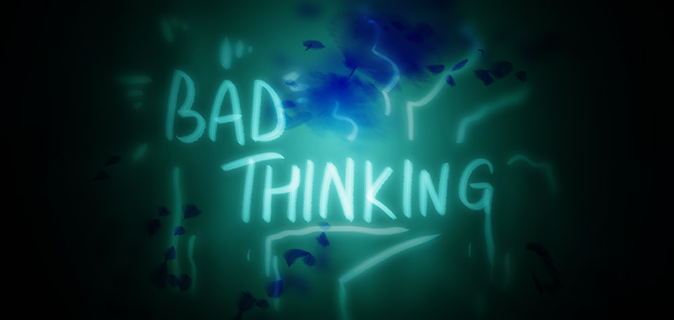 When you're in a situation that requires quick decision making, don't let fear run you over. -- Bad Thinking - Digital Art by Matthias Zegveld