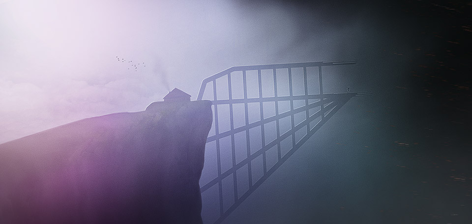 Bridging the Unknown - Digital Art by Matthias Zegveld