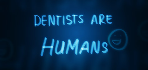 Dentists Are Humans - Digital Art by Matthias Zegveld