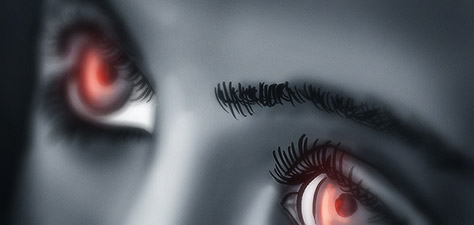 Eyes of Delusion - Цифровое Искусство Матиаса Zegveld