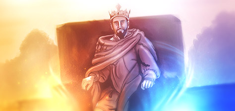 Great King David - Digital Art by Matthias Zegveld