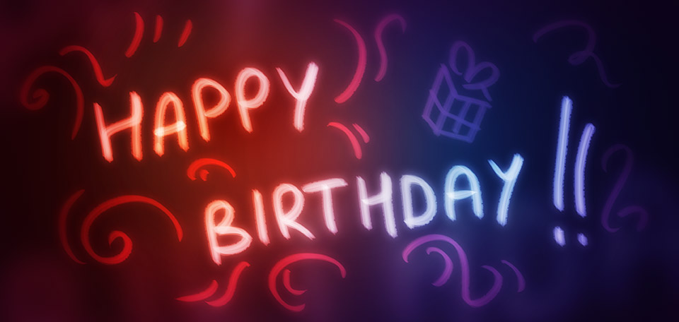 If today is your birthday, then I'd like to wish you a happy birthday today and a prosperous and joyful life! -- Happy Birthday - Digital Art by Matthias Zegveld