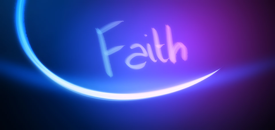 God promised to us that He will give us faith, if we take His offer… -- I'll Give You Faith - Digital Art by Matthias Zegveld