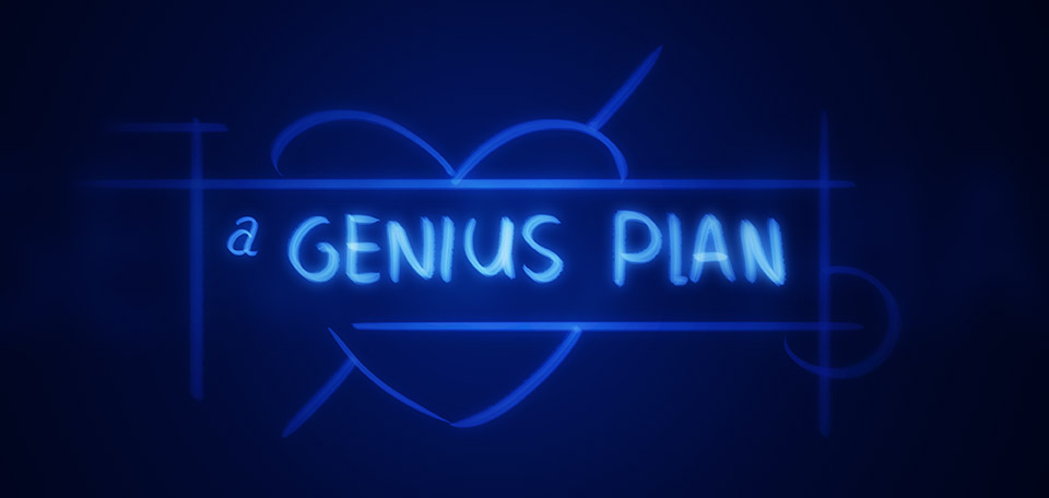 It's a Genius Plan - Digital Art by Matthias Zegveld