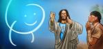 Jesus, God and Tyrese Gibson - Digital Art by Matthias Zegveld