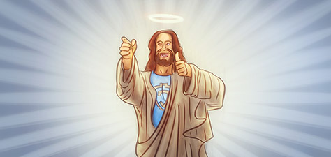 Jesus the Messiah - Digital Art by Matthias Zegveld