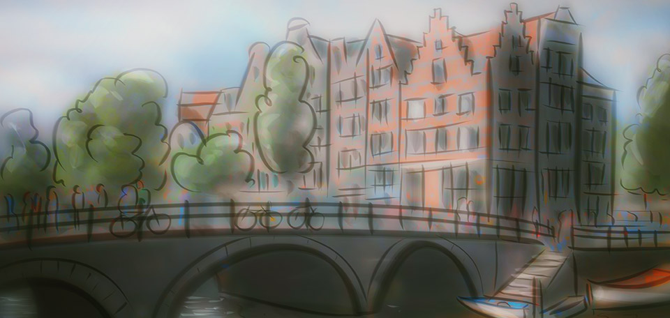 Like a Dutch Postcard - Digital Art by Matthias Zegveld