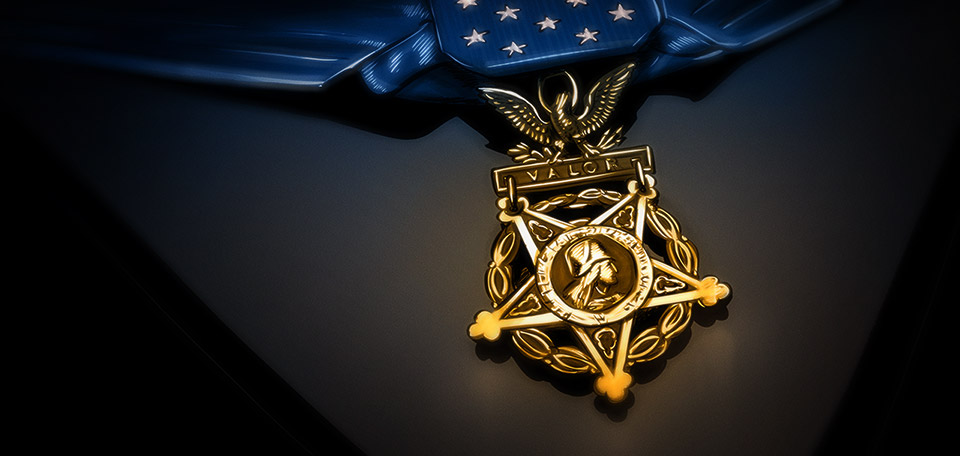 Handed to those who sacrifice their safety for the lives of their family, friends and their fellow citizens. -- Medal of Honor - Digital Art by Matthias Zegveld