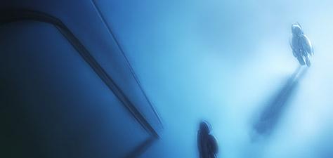 Meeting at the Pillar - Digital Art by Matthias Zegveld