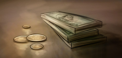 Money, Money, Money - Digital Art by Matthias Zegveld