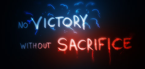 No Victory Without Sacrifice - Digital Art by Matthias Zegveld