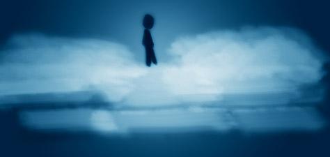 Not Walking on the Clouds - Digital Art by Matthias Zegveld
