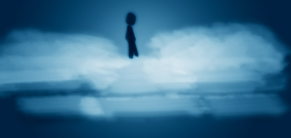 Though I am confident of the existence of God, I am also thoroughly aware of the human part of life. -- Not Walking on the Clouds - Digital Art by Matthias Zegveld
