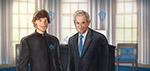 President Matthias Zegveld with George W. Bush - Digital Art by Matthias Zegveld