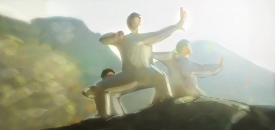 As I am learning more and more about the Chinese culture, I have also discovered a deep love for exercising Qi Gong. -- Qi Gong Is Awesome - Digital Art by Matthias Zegveld