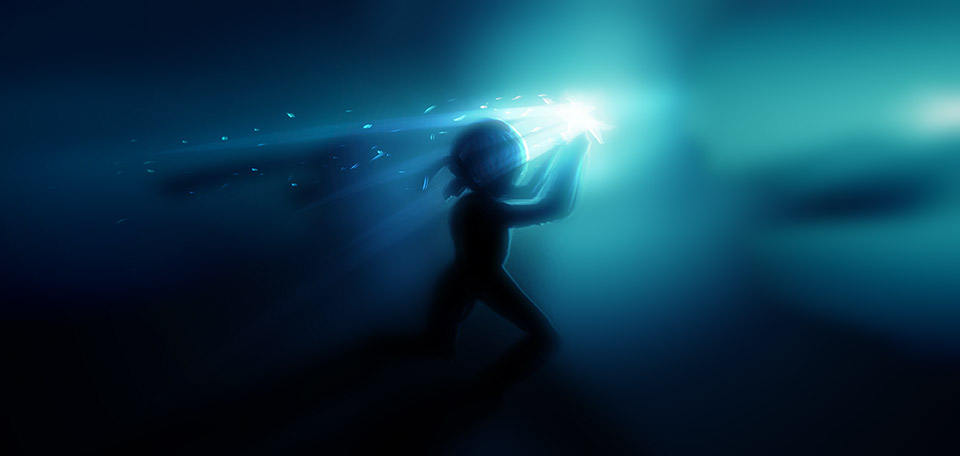 When the light of hope catches you, you better take it and run with it as an example of reaching your goals. -- Run with It - Digital Art by Matthias Zegveld