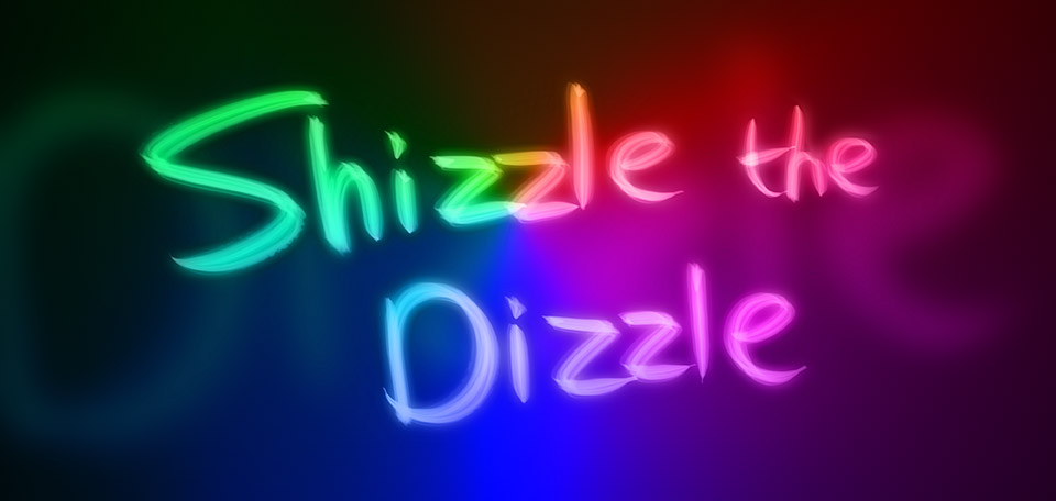 An ordinary expression used in rap music, as a way to express one's significant ownership of an abundance of wealth. -- Shizzle the Dizzle - Digital Art by Matthias Zegveld