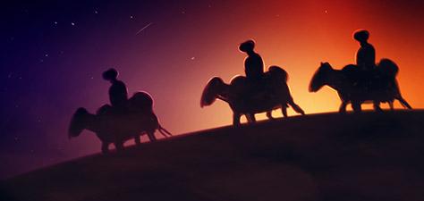 Some Wise Men - Digital Art by Matthias Zegveld