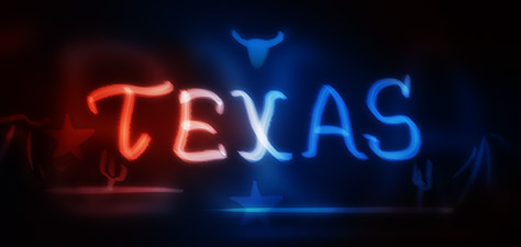 Texas - Digital Art by Matthias Zegveld
