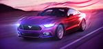 The Great Ford Mustang - Digitale Art von Matthias Zegveld