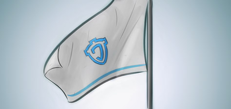 The Jeshield Flag - Digital Art by Matthias Zegveld