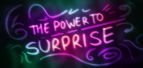 The Power to Surprise - Art Numérique par Matthias Zegveld
