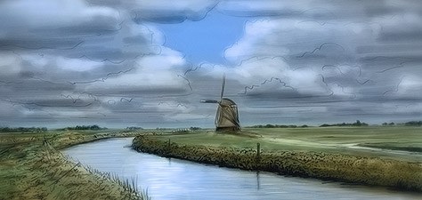 This Is Holland - Digital Art by Matthias Zegveld