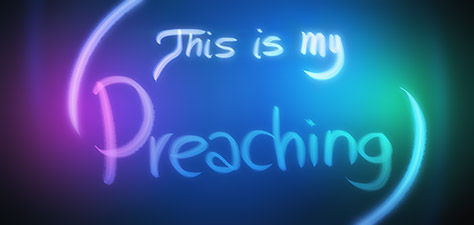 This Is My Preaching - Digital Art by Matthias Zegveld