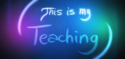 This Is My Teaching - Digital Art by Matthias Zegveld