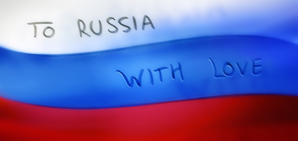 To Russia with Love - Digital Art by Matthias Zegveld