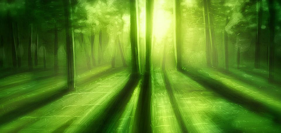 A Green Day - Digital Art by Matthias Zegveld