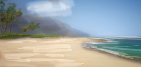 Beautiful Hawaii - Digital Art by Matthias Zegveld