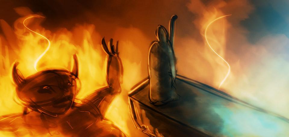 Death Has Died - Digital Art by Matthias Zegveld