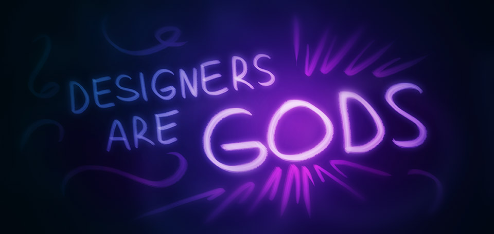 Designers Are Gods - Digital Art by Matthias Zegveld