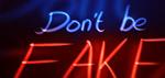Don't Be Fake - Digital Art by Matthias Zegveld