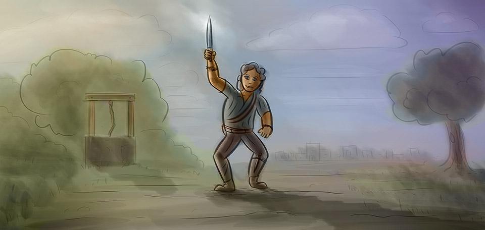 Hero of Bethleveth - Digital Art by Matthias Zegveld