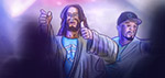 Jesus and 50 Cent Go Clubbing - Digital Art by Matthias Zegveld