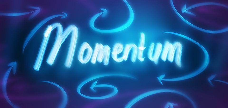 Momentum - Digital Art by Matthias Zegveld