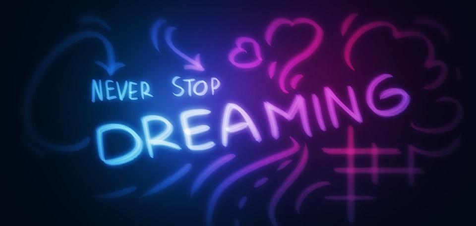 Never Stop Dreaming - Digital Art by Matthias Zegveld
