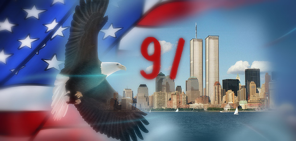 Today it's 9/11, the day that shook the world 14 years ago, and showed us tragedy but also the bravery of those who helped. -- Nine Eleven - The Day That Shook the World - Digital Art by Matthias Zegveld