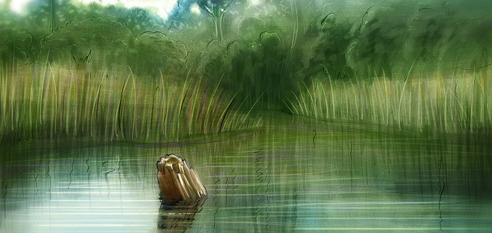 Peace of Nature - Digital Art by Matthias Zegveld