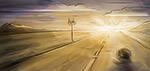 Route 66 - Digital Art by Matthias Zegveld