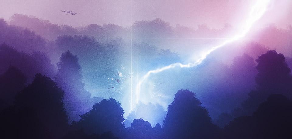 The Forest of Light - Digital Art by Matthias Zegveld