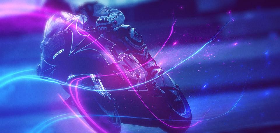 The Race of Life - Digital Art by Matthias Zegveld
