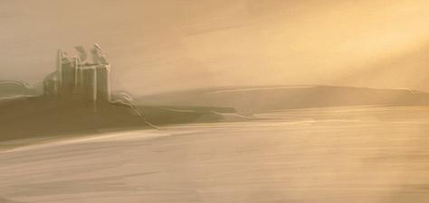 The Silver Shores - Digital Art by Matthias Zegveld