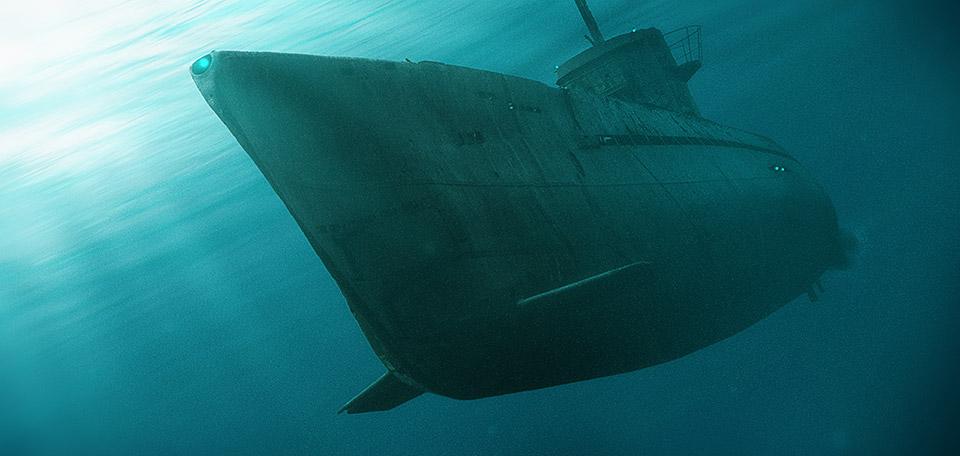 The Submarine - Digital Art by Matthias Zegveld