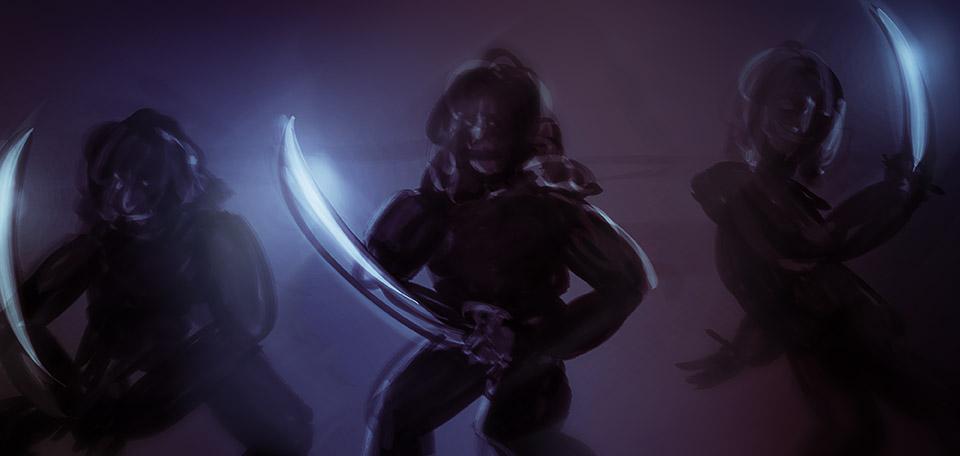 Warriors of Kina Salu - Digital Art by Matthias Zegveld
