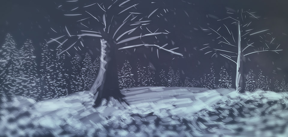 With beautiful layers of snow covering all trees and bushes, this is a wonderful winter landscape. -- Winter Wonderland - Digital Art by Matthias Zegveld